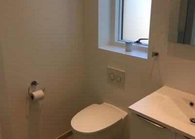 Nybyg-badeværelse